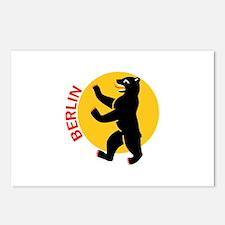 BERLIN BEAR Postcards (Package of 8)