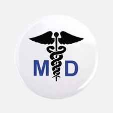 "MEDICAL DOCTOR 3.5"" Button"