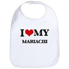 I Love My MARIACHI Bib