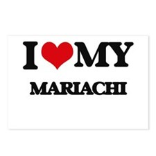 I Love My MARIACHI Postcards (Package of 8)