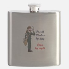 POSTAL WORKER BY DAY Flask