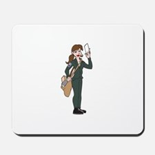 POSTAL WORKER Mousepad