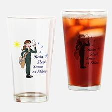 SMALL SEMI TRUCK Drinking Glass