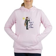 SMALL SEMI TRUCK Women's Hooded Sweatshirt