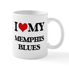 I Love My MEMPHIS BLUES Mugs
