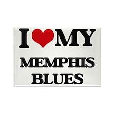 I Love My MEMPHIS BLUES Magnets