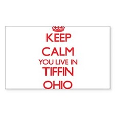Keep calm you live in Tiffin Ohio Decal