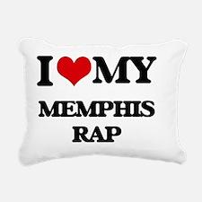 Cool Memphis radio Rectangular Canvas Pillow