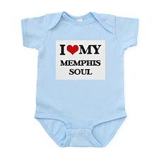 I Love My MEMPHIS SOUL Body Suit