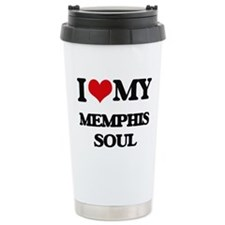 I Love My MEMPHIS SOUL Travel Mug