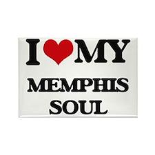 I Love My MEMPHIS SOUL Magnets