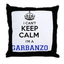 Cute Garbanzo Throw Pillow