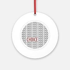 Pro Choice Ornament (Round)
