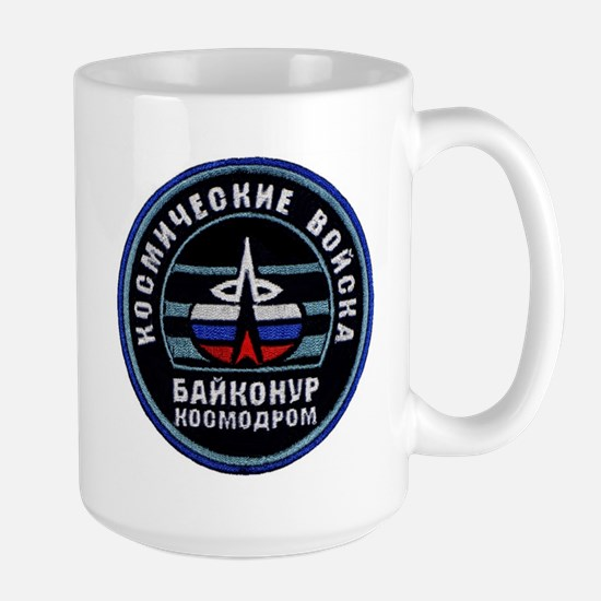Baikonur Cosmodrome Large Mug Mugs