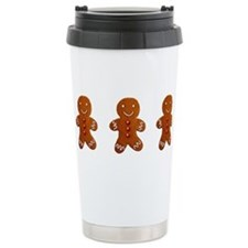 Cute Gingerbread man Travel Mug