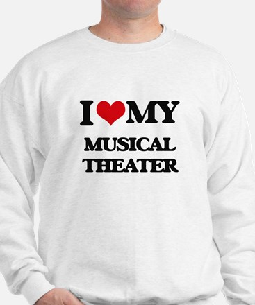 I Love My MUSICAL THEATER Sweater