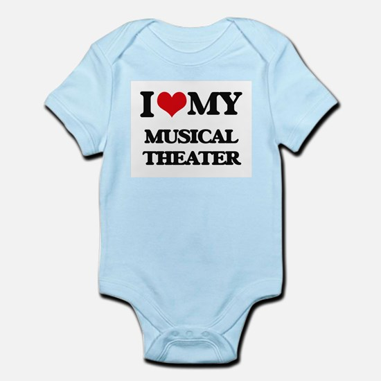 I Love My MUSICAL THEATER Body Suit