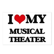 I Love My MUSICAL THEATER Postcards (Package of 8)