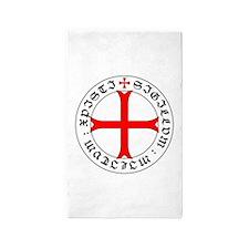 Knights Templar 12th Century Seal - Holy Area Rug