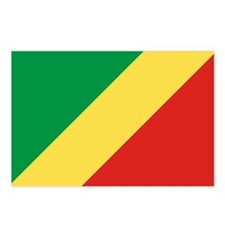 Republic of Congo Flag Postcards (Package of 8)