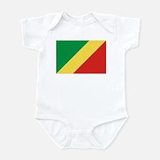Republic of Congo Flag Infant Bodysuit