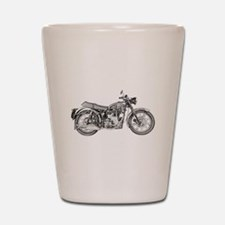 Enfield Motorcycle Shot Glass