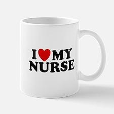 I Love My Nurse Mug