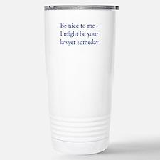 Cool Lawyers Travel Mug