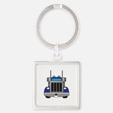 SEMI TRUCK FRONT Keychains