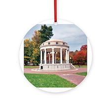Boston Common Gazebo - Round Ornament