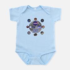 Spaceflight Centers Composite Infant Bodysuit