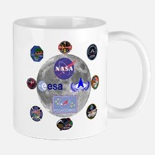 Spaceflight Centers Composite Mug Mugs