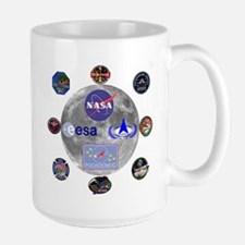 Spaceflight Centers Composite Large Mug Mugs