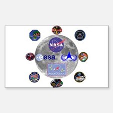 Spaceflight Centers Composite Decal