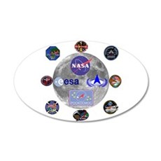 Spaceflight Centers Composit Wall Decal