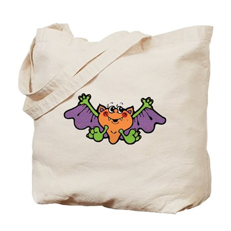 Silly Bat Tote Bag