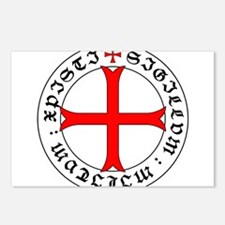 Knights Templar 12th Cent Postcards (Package of 8)