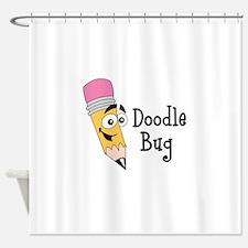 DOODLE BUG Shower Curtain