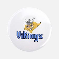 """VIKINGS 3.5"""" Button"""