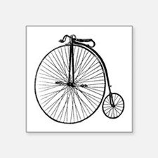 Antique Penny Farthing Bicycle Sticker