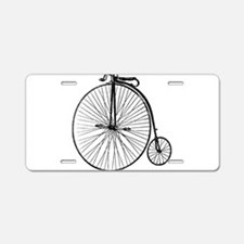 Antique Penny Farthing Bicy Aluminum License Plate