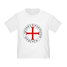 Knights Templar 12th Century Seal - Holy G T-Shirt
