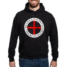 Knights Templar 12th Century Seal - Hoodie
