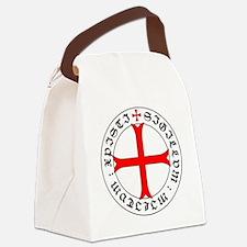 Knights Templar 12th Century Seal Canvas Lunch Bag
