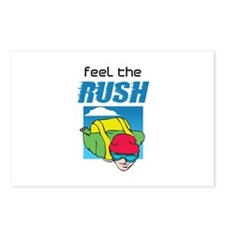 FEEL THE RUSH Postcards (Package of 8)