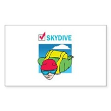 SKYDIVE DONE THAT Decal