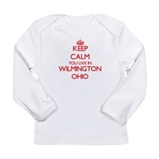 Keep calm you live in Wilmingt Long Sleeve T-Shirt