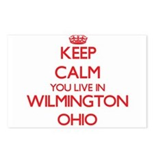 Keep calm you live in Wil Postcards (Package of 8)