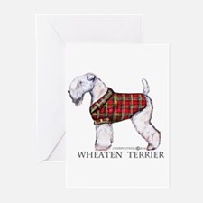 Wheaten Terrier Greeting Cards