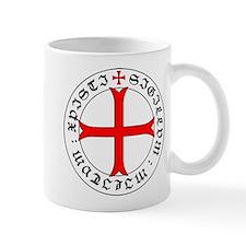 Knights Templar 12th Century Seal - Holy Grai Mugs